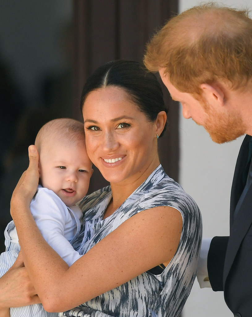 Meghan, Harry i mały Archie /Pool / Samir Hussein /Getty Images