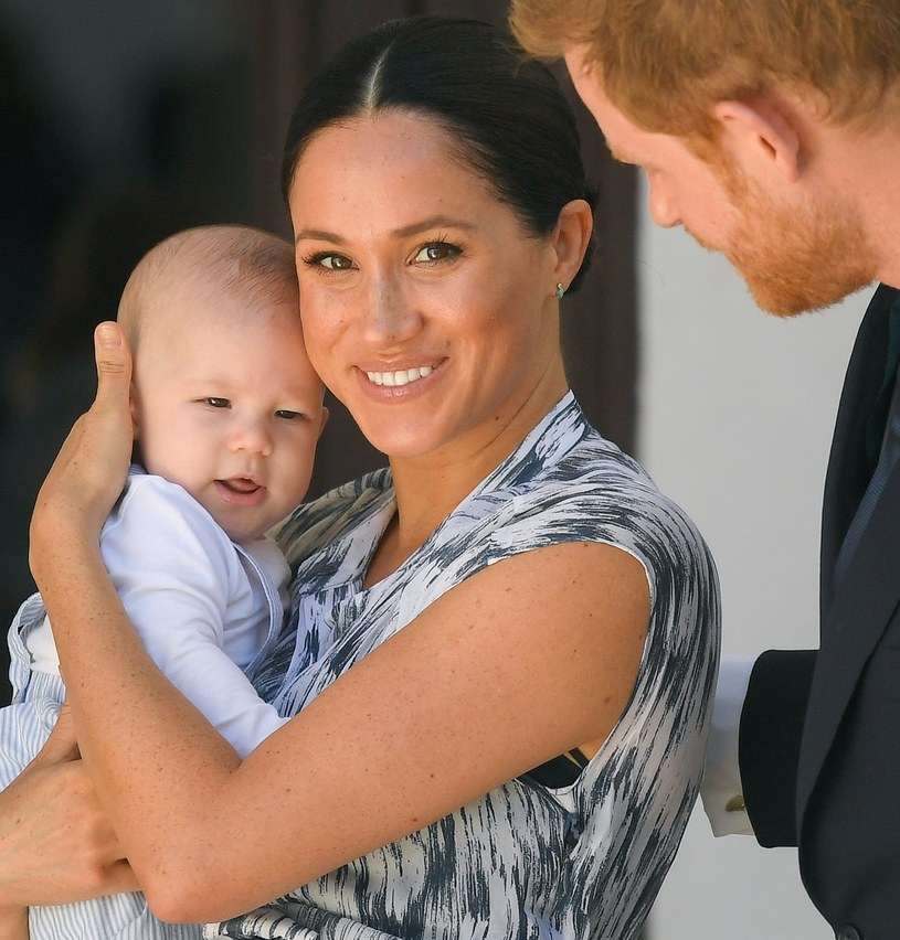 Meghan, Harry i mały Archie /Samir Hussein /Getty Images