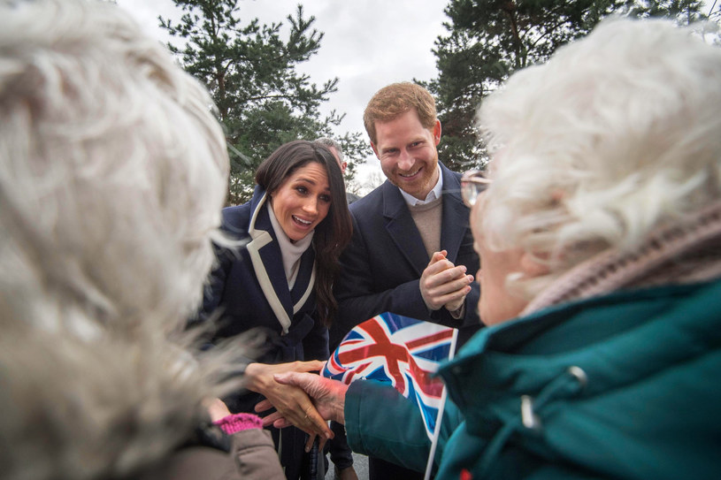 "Meghan i Harry chcą być ""niezależni finansowo"" /Victoria Jones/Press Association /East News"
