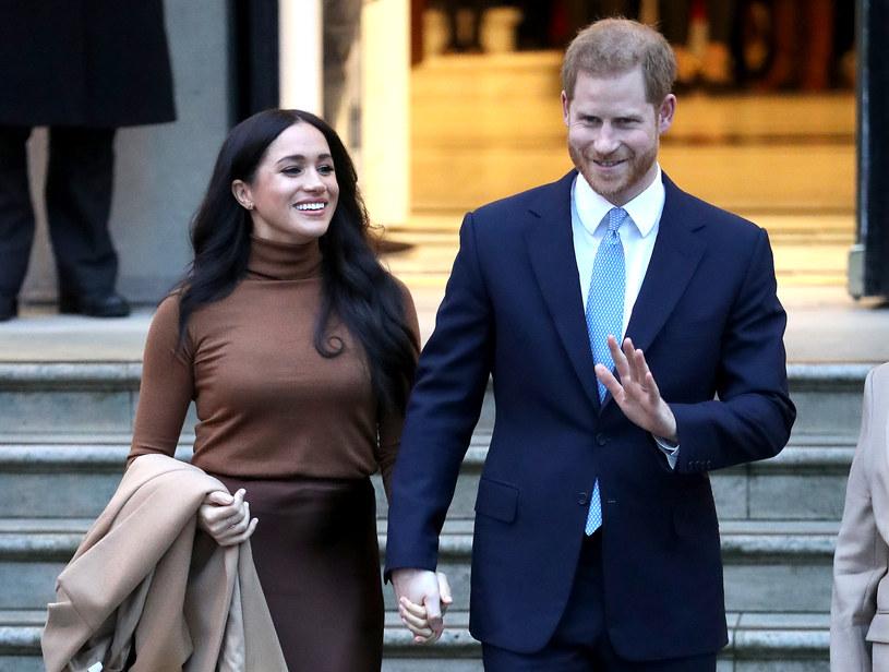Meghan i Harry muszą na nowo ułożyć sobie życie /Chris Jackson/Getty Images /Getty Images