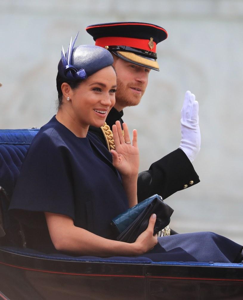 Meghan i Harry na urodzinach królowej /GARETH FULLER/AFP /East News