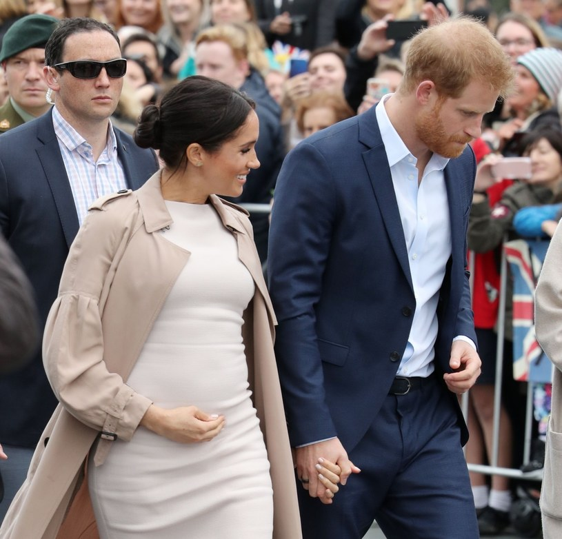 Meghan i Harry podczas wizyty w Nowej Zelandii, październik 2018 /Rex Features /East News