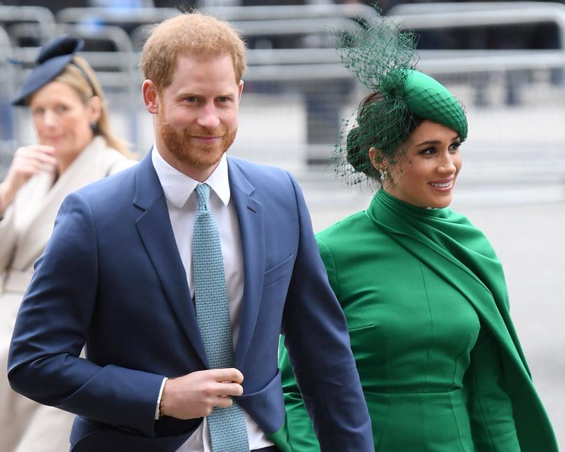 Meghan i Harry poinformowali świat o swoich planach na przyszłość /SplashNews.com /East News