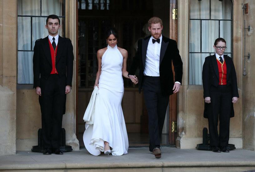 Meghan i Harry rocznicę ślubu świętowali z dala od rodziny królewskiej /i-Images / Pool/i-images/ /East News
