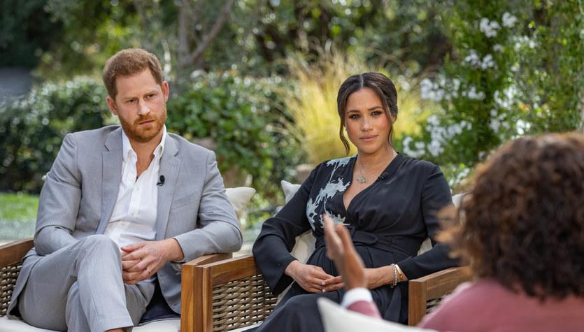 Meghan i Harry udzielili wywiadu Oprah Winfrey. Padły zaskakujące słowa