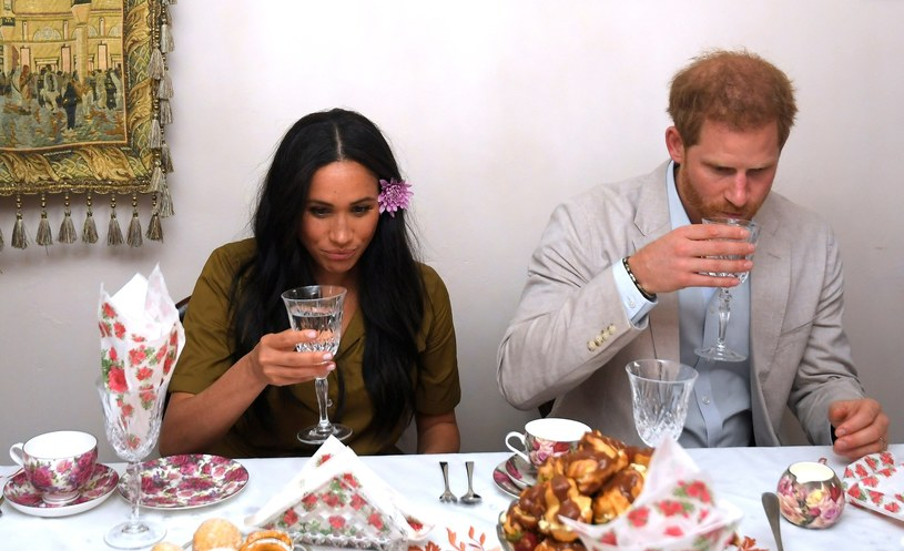 Meghan i Harry w Afryce /	Toby Melville /East News