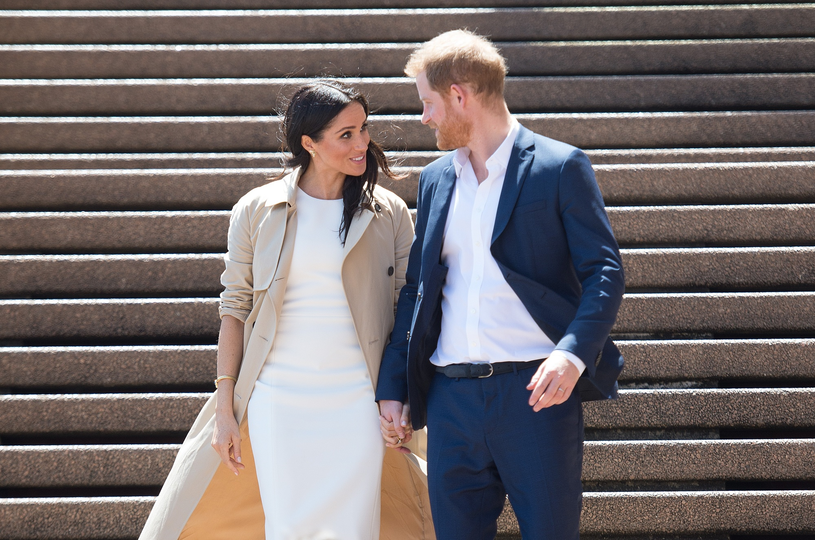 Meghan i Harry w Australii /Splash News /East News
