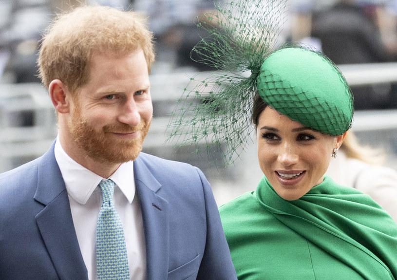 Meghan i Harry w styczniu 2020 roku ogłosili, że opuszczają rodzinę królewską i przeprowadzają się do Kanady /Mark Cuthbert/UK Press /Getty Images