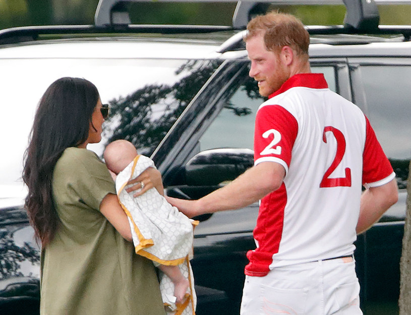 Meghan i Harry z Archim, 2019 rok /Max Mumbly /Getty Images