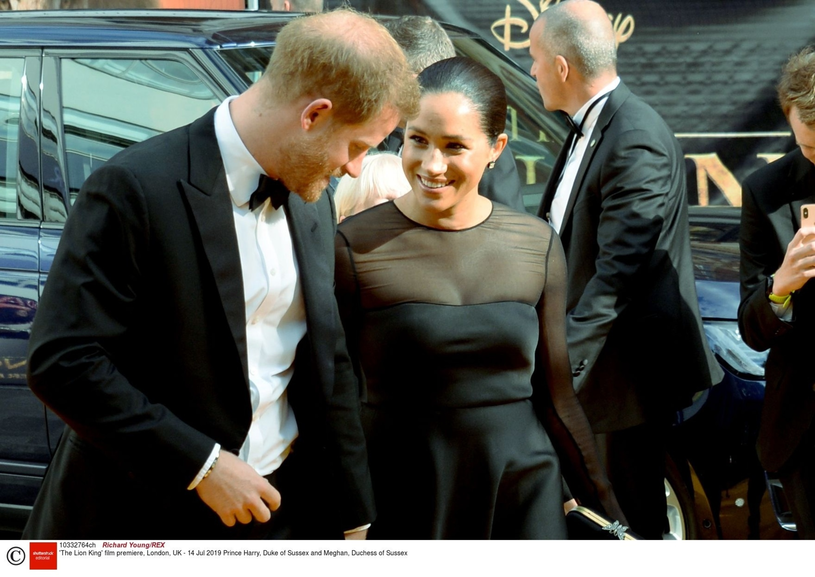 Meghan i Harry /Richard Young/Rex Features /East News