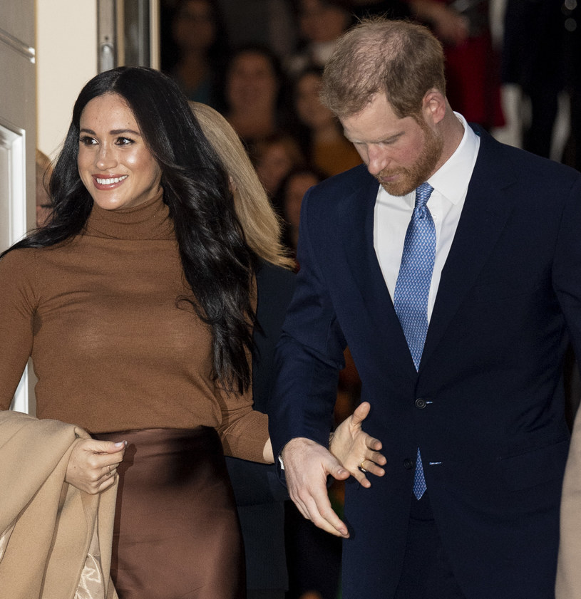 Meghan i Harry /Mark Cuthbert /Getty Images