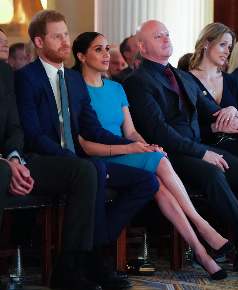 Meghan i Harry /Rex Features /East News