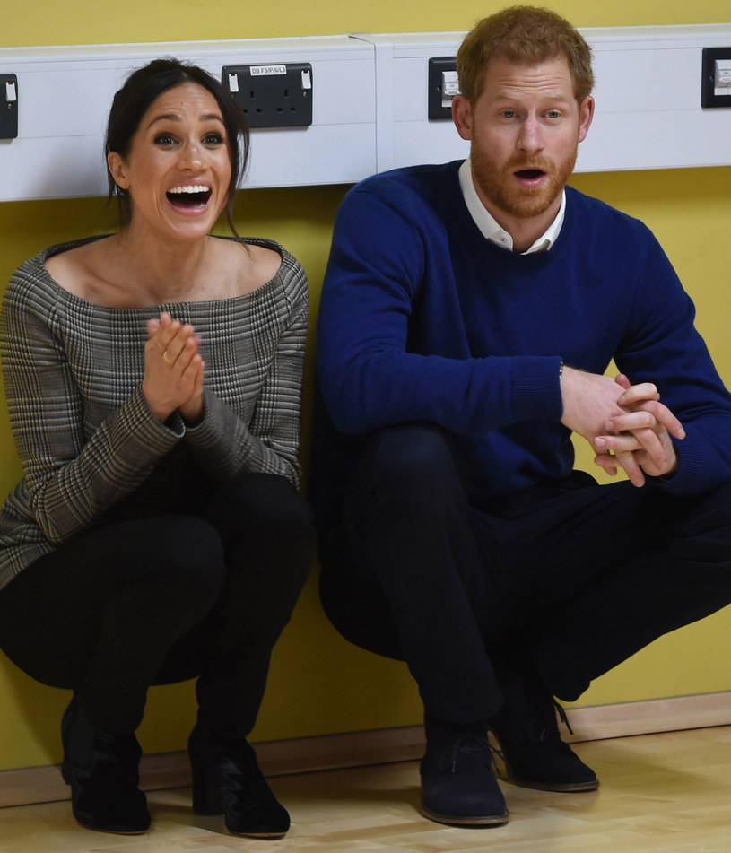 Meghan i Harry /GEOFF PUGH /Getty Images