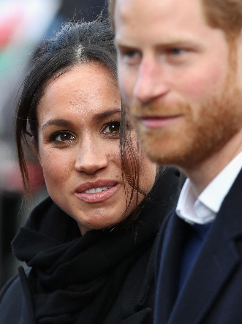 Meghan i książę Harry /Getty Images