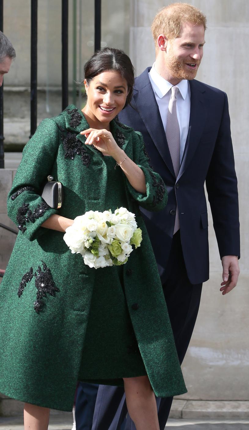 Meghan i książę Harry /East News