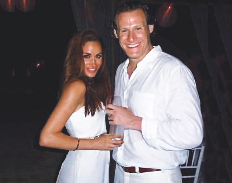 Meghan i Trevor w dniu ślubu /Star Magazine/MEGA  /Agencja FORUM