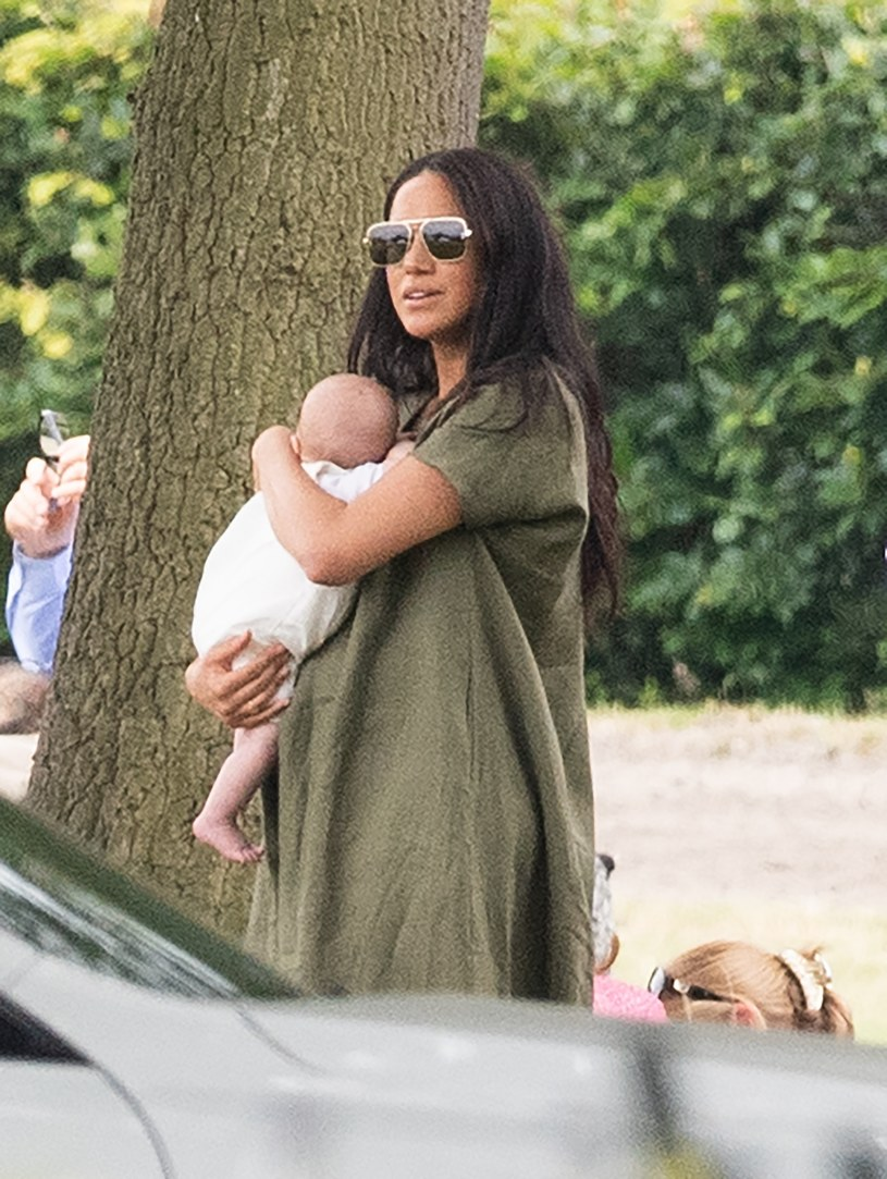 Meghan Markle i Archie /SplashNews.com /East News