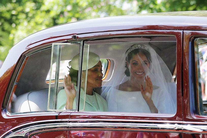 Meghan Markle i Doria Ragland w drodze do kościoła /Richard Heathcote /Getty Images