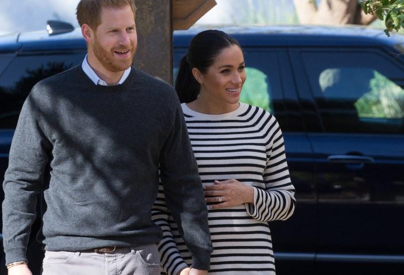 Meghan Markle i Harry oczekują narodzin drugiego dziecka /Pool / Samir Hussein /Getty Images