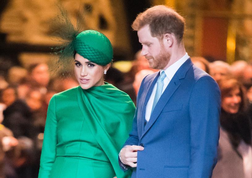 Meghan Markle i Harry żyją teraz na własny rachunek /Samir Hussein /Getty Images