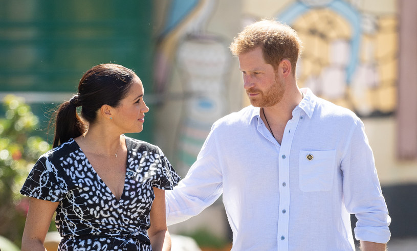 Meghan Markle i Harry /Dominic Lipinski   /Getty Images