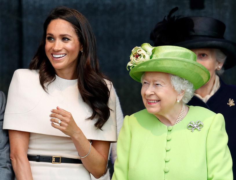 Meghan Markle i królowa Elżbieta II /Max Mumby/Indigo /Getty Images