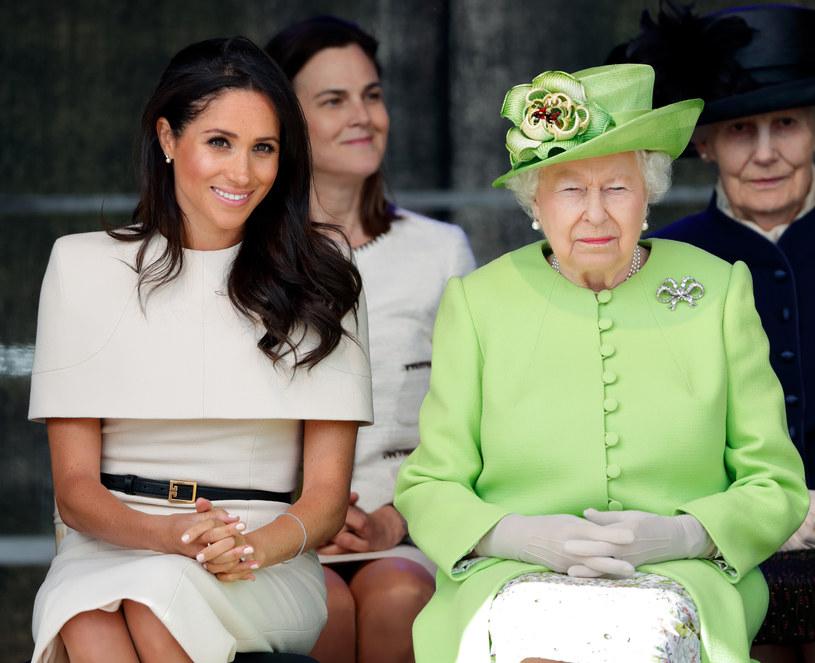Meghan Markle i królowa Elżbieta II / Max Mumby/Indigo / Contributor /Getty Images