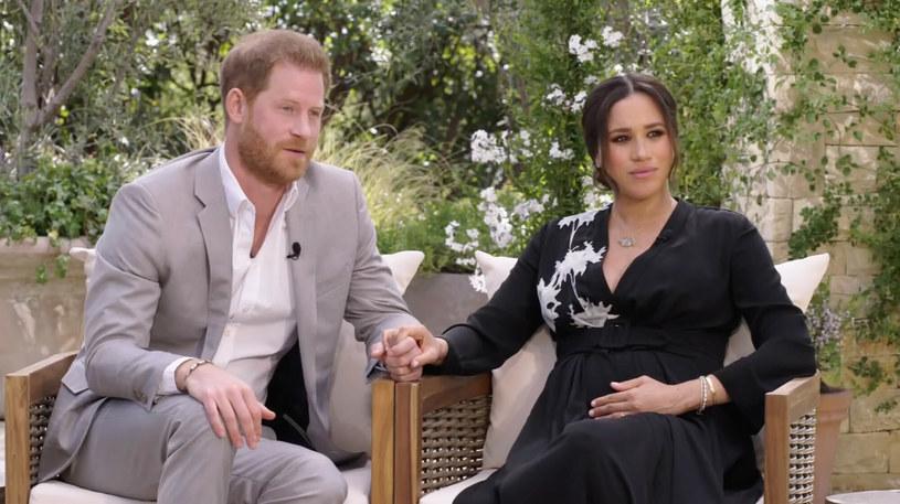 Meghan Markle i książę Harry przez liczne wywiady zyskali sporo wrogów, również wśród rodziny królewskiej /CBS/Ferrari Press/East News /East News