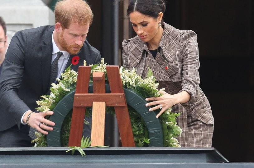 Meghan Markle i książę Harry są przejęci sytuacją w Afganistanie /Chris Jackson /Getty Images