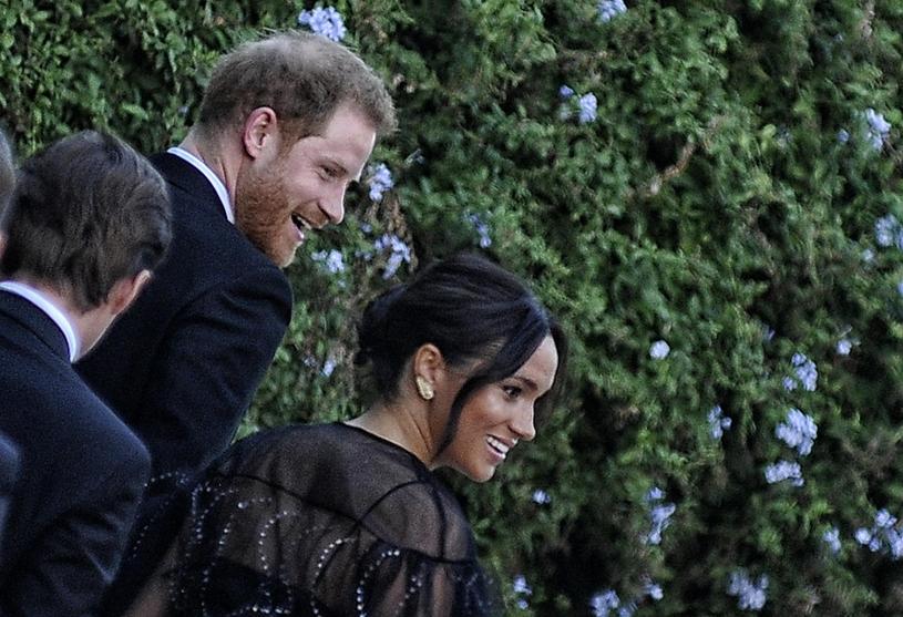 Meghan Markle i książę Harry w Rzymie /Splashnews /East News