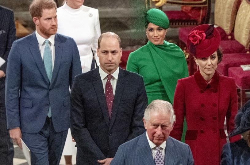 Meghan Markle i książę Harry wciąż są skłóceni z większością rodziny królewskiej /WPA Pool /Getty Images