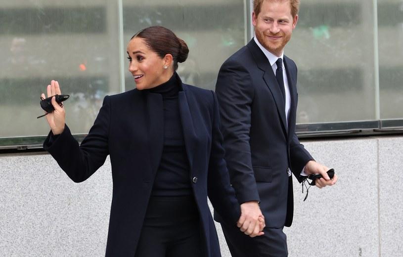 Meghan Markle i książę Harry wywołali zamieszanie w Nowym Jorku /Taylor Hill /Getty Images