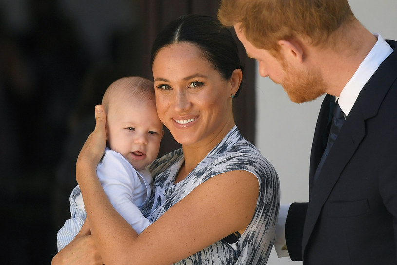 Meghan Markle i książę Harry z małym Archie'm /Pool /Getty Images