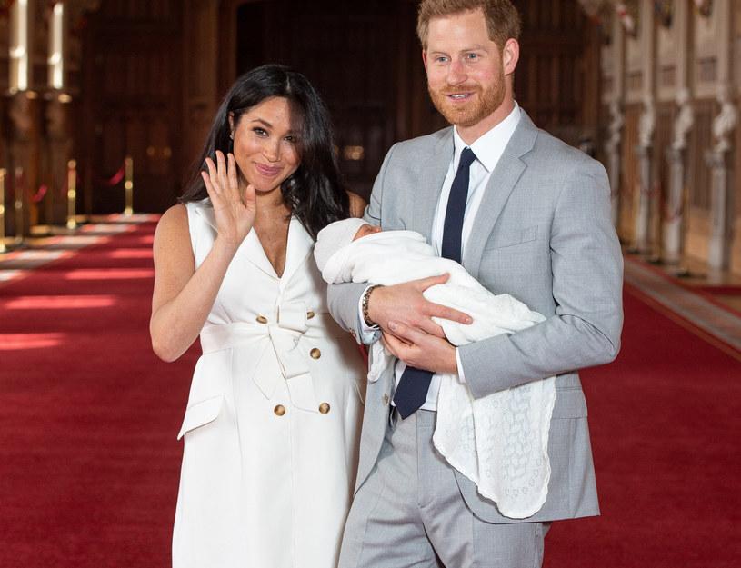 Meghan Markle i książę Harry z synem /WPA Pool /Getty Images