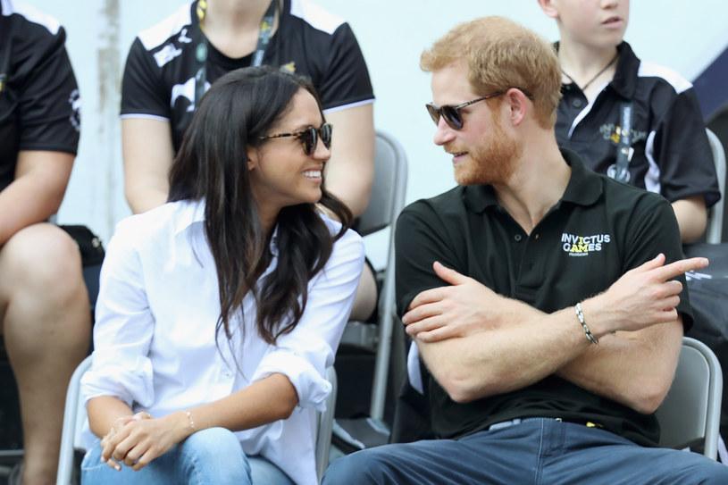 Meghan Markle i książę Harry /Getty Images