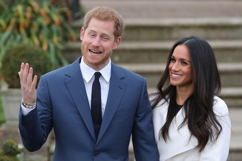 Meghan Markle i książę Harry /AP /East News