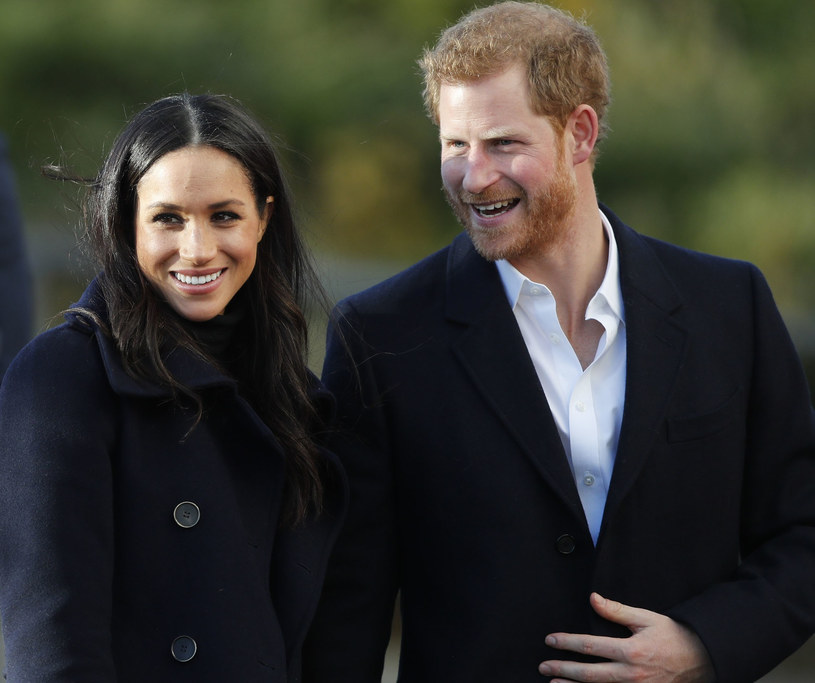 Meghan Markle i książę Harry /East News