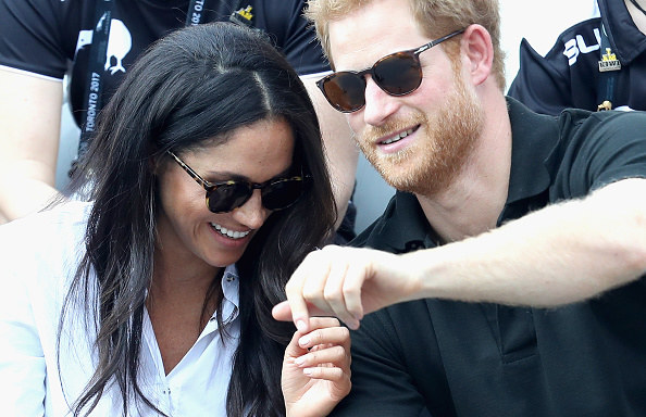 Meghan Markle i książę Harry /Chris Jackson /Getty Images