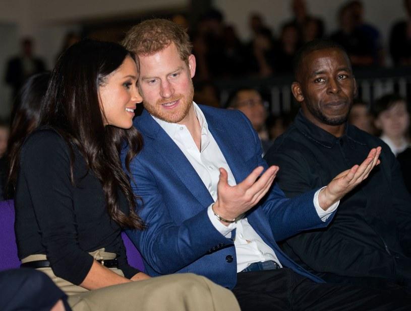 Meghan Markle i książę Harry /AFP