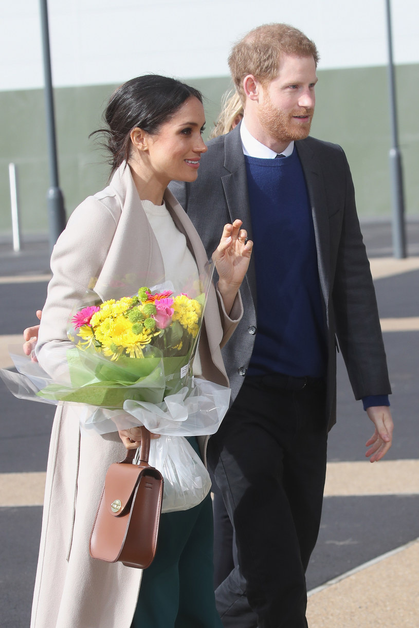 Meghan Markle i książe Harry /Chris Jackson /Getty Images