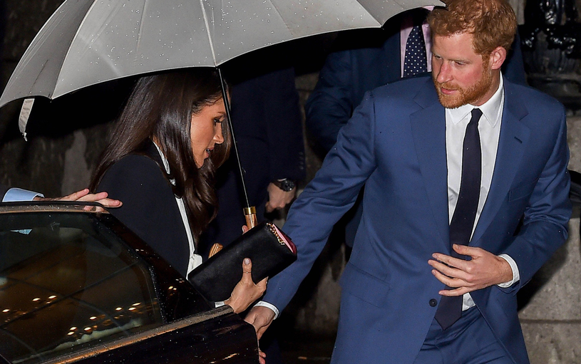 Meghan Markle i książę Harry /Pete Maclaine / i-Images /East News