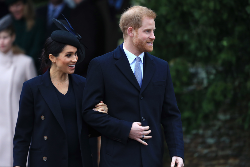 Meghan Markle i książę Harry /Stephen Pond /Getty Images