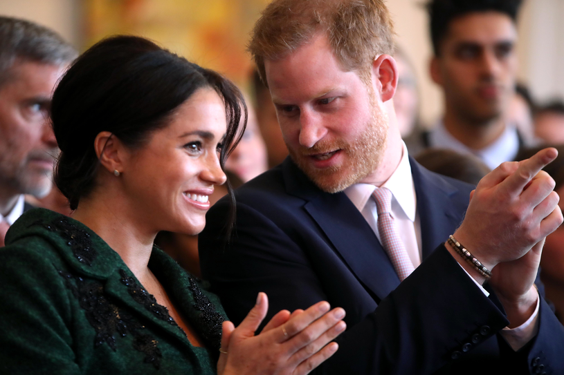 Meghan Markle i książę Harry /Chris Jackson /Getty Images