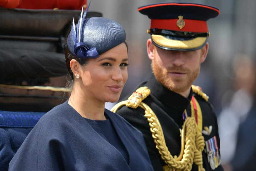 Meghan Markle i książę Harry /EastNews /East News
