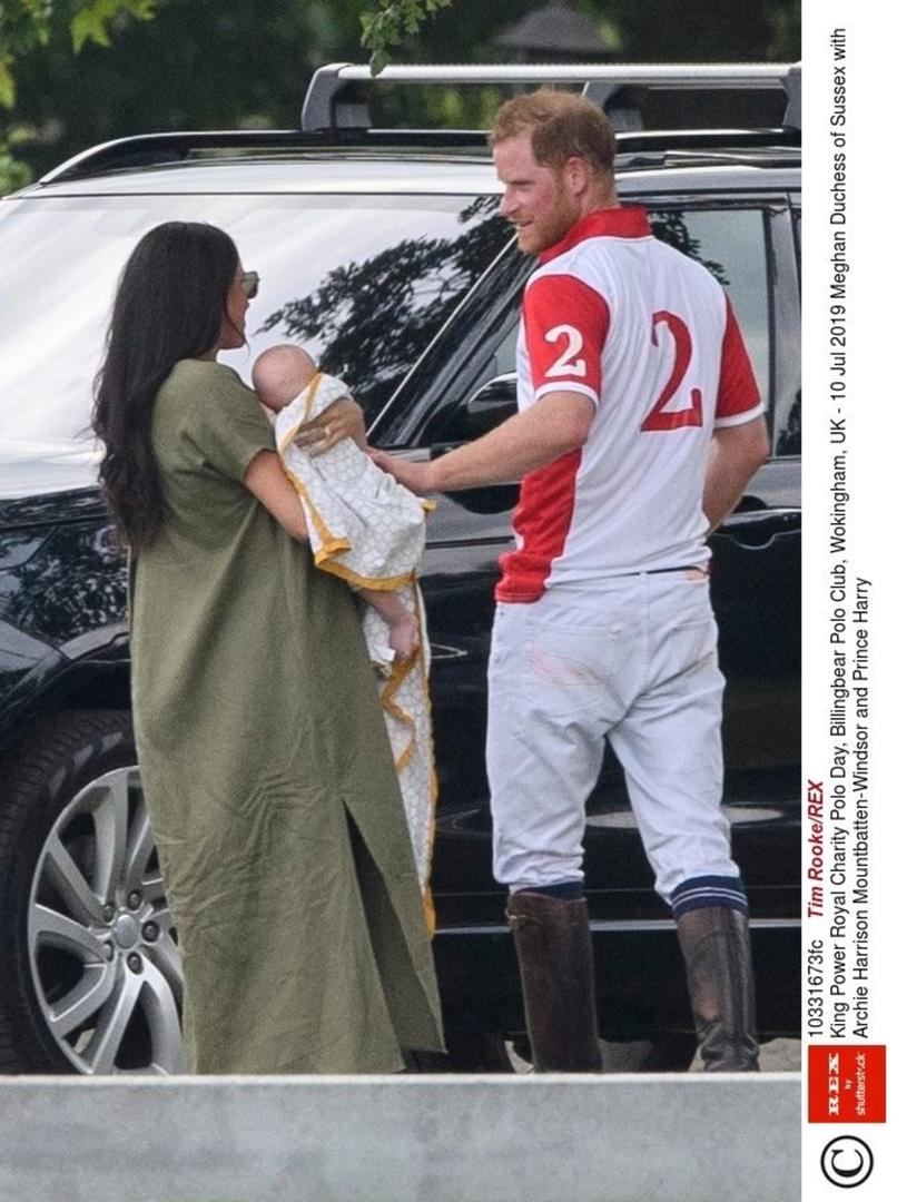 Meghan Markle i książę Harry /Tim Rooke/REX /East News