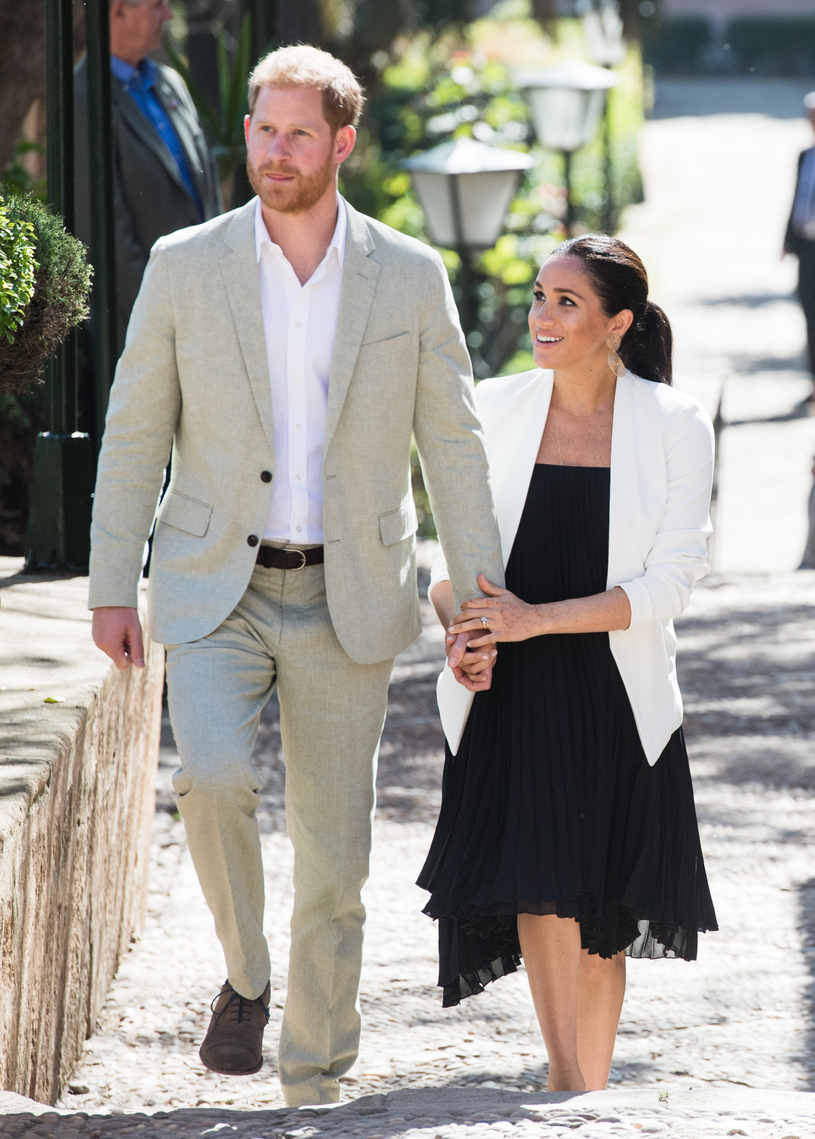 Meghan Markle i książę Harry /Samir Hussein /Getty Images