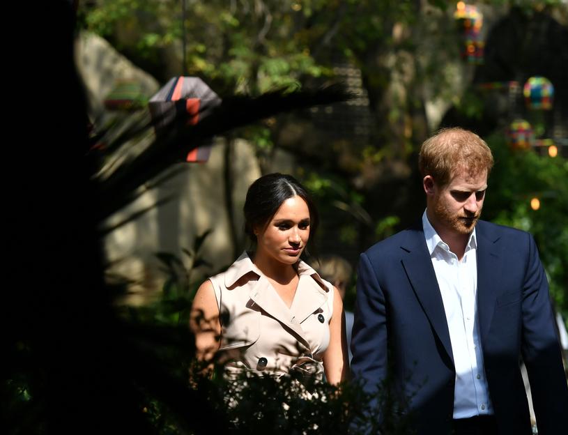 Meghan Markle i książę Harry /Pool /Getty Images