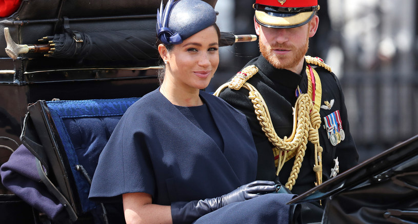 Meghan Markle i książę Harry /Chris Jackson / Staff  /Getty Images