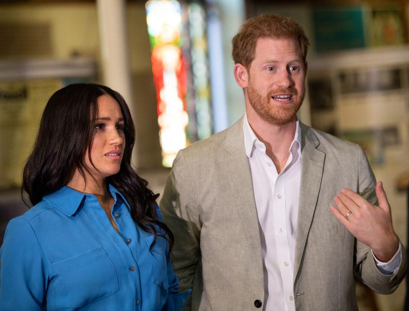 Meghan Markle i książę Harry /Pool / Samir Hussein /Getty Images
