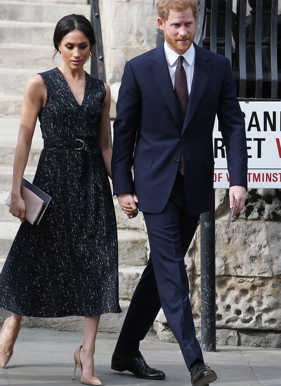 Meghan Markle i książę Harry /Neil Mockford / Contributor /Getty Images